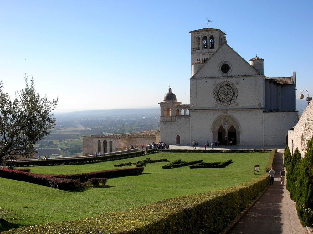 Visit the special town of Assisi, associated with St. Francis and St. Clare