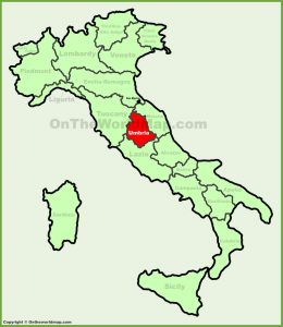umbria-location-on-the-italy-map